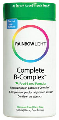 Rainbow Light Complete B-Complex 90 Tablets