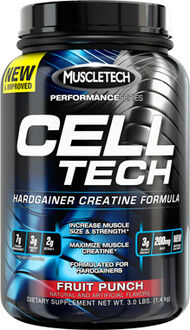 MuscleTech Cell-Tech Performance 3 lbs. Powder Fruit Punch