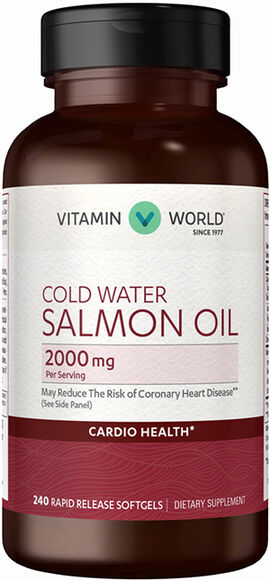 Salmon Oil 2000 mg.