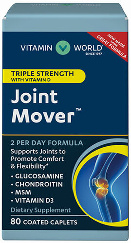 Vitamin World Triple Strength Joint Mover™ with Vitamin D 80 Caplets