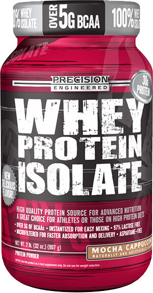 Precision Engineered® Whey Protein Isolate Mocha Cappuccino 2 lbs.