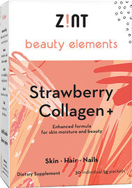 Zint Nutrition Beauty Elements Collagen+ Peach 30 Packets