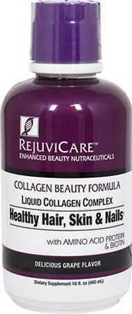 Rejuvicare™ Collagen Beauty Formula 16 oz. Liquid Grape
