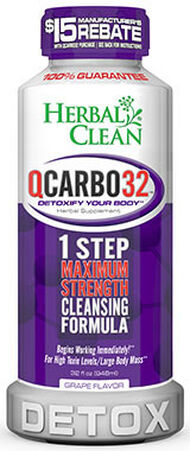 Herbal Clean QCarbo32™ Grape 32 oz. Liquid