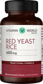 Red Yeast Rice 600 mg. 120 Capsules | Vitamin World