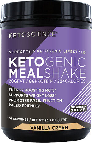 Ketoscience Ketogenic Meal Shake Vanilla Cream