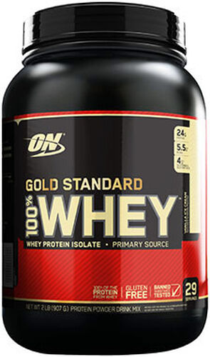a46edf4ce Optimum Nutrition Gold Standard 100% Whey Protein Vanilla Ice Cream 2 lbs.  2 lbs