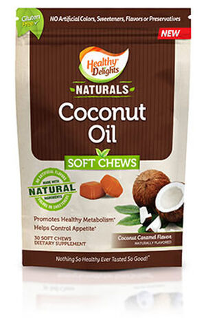 Healthy Delights Naturals Coconut Oil Chews 30 Chews Coconut Caramel