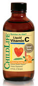 ChildLife Liquid Vitamin C for Kids 250 mg. 4 oz. Liquid