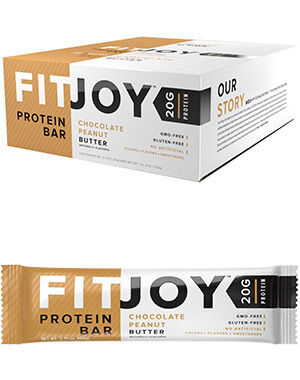 FitJoy Protein Bars Chocolate Peanut Butter, , hi-res