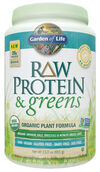 Garden Of Life RAW Protein & Greens Lightly Sweet 23 oz. Powder