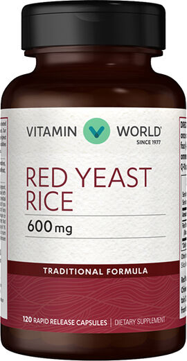 Red Yeast Rice 600 mg. Capsules