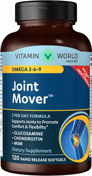 Vitamin World Joint Soother® with Omega 3-6-9