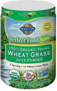 Garden Of Life Perfect Food® RAW Wheat Grass Juice 4 oz. Powder