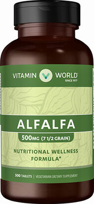 Alfalfa 500 mg., , hi-res