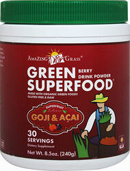 Amazing Grass Green SuperFood Berry 8 oz. Powder