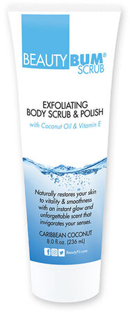BeautyBum® Exfoliating Body Scrub & Polish Caribbean Coconut