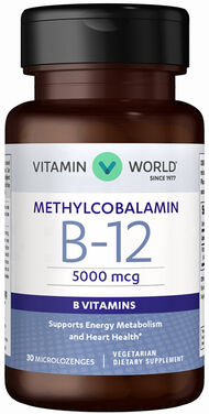 Vitamin B-12 Methylcobalamin 5000mcg, , hi-res