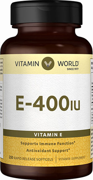 Vitamin E 400IU, 250, hi-res