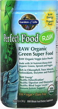 Garden Of Life Perfect Food Raw Organic Powder 8 oz. Powder