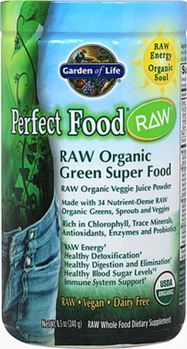 Garden of Life Perfect Food Raw Organic Powder | Vitamin World