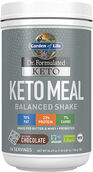 Garden Of Life Dr. Formulated Keto Meal Balanced Shake Chocolate 24.69 oz. Powder
