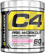 C4 Pre Workout Pink Lemonade 13.75 oz., , hi-res