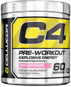 Cellucor C4 Pre Workout Pink Lemonade 13.75 oz. 13.75 oz. Powder
