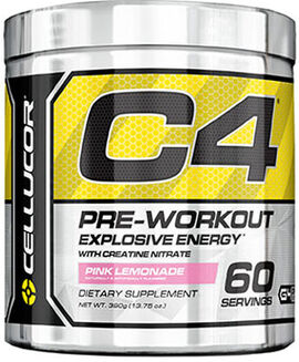 C4 Pre Workout Pink Lemonade 13.75 oz.