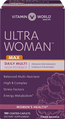 Vitamin World Ultra Woman™ Max Daily Multivitamins 180 Caplets