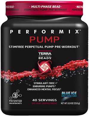 Performix® Performix™ Pump Pre Workout 8.24 oz. Blue Ice 8.24 oz. Powder