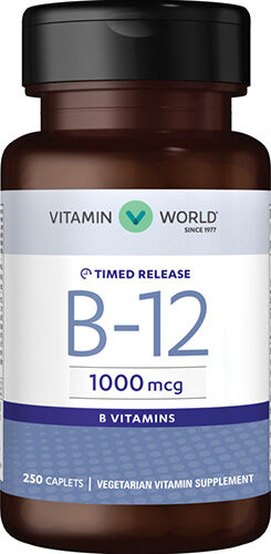 Vitamin World Vitamin B-12 1000 mcg.