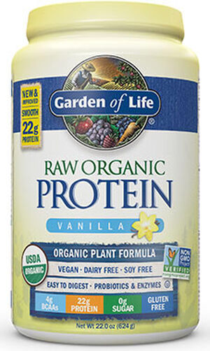 Garden Of Life RAW Organic Protein Vanilla 22 oz. Powder
