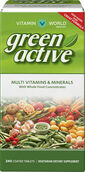Vitamin World Green Active™ Multi Vitamins & Minerals 240 tablets