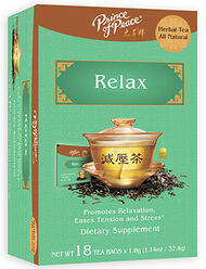 Prince of Peace Relax Herbal Tea 18 Tea Bags