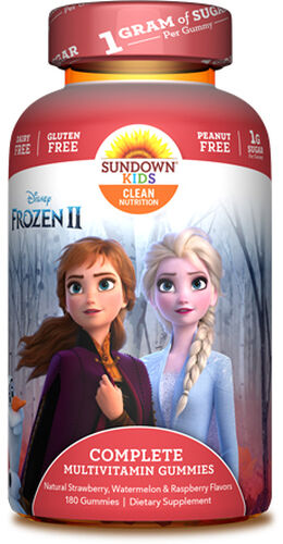 Disney Frozen II Complete Multivitamin Gummies for Kids