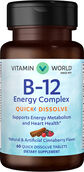 Vitamin World Vitamin B-12 Energy Complex Quick Dissolve