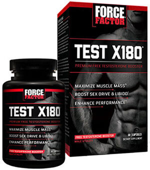 Force Factor Test X180® 60 Capsules