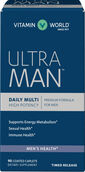 Vitamin World Ultra Man™ Daily Men's Multivitamins 90 Caplets