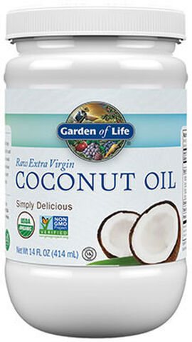 Raw Extra Virgin Coconut Oil 14 oz.