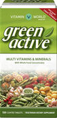 Green Active™ Multi Vitamins and Minerals, 120, hi-res