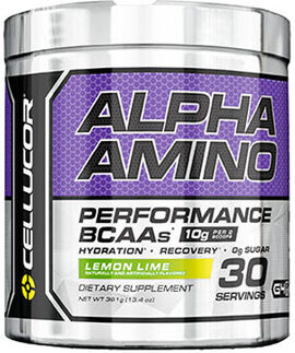 Alpha Amino BCAAs Lemon Lime 13.4 oz.
