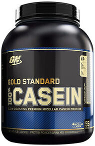 Gold Standard 100% Casein™ Cookies & Cream 4 lbs.