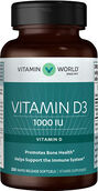 Vitamin World Vitamin D3 1000 IU