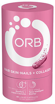 ORB™ Hair - Skin - Nails + Collagen 60 Capsules