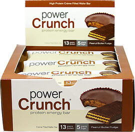 Power Crunch Bars Peanut Butter Fudge