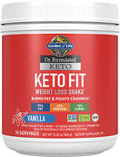 Garden Of Life Dr. Formulated Keto Fit Vanilla 12.52 oz. Powder