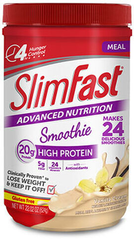 SlimFast® Advanced Nutrition Protein Smoothie Vanilla Cream