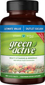Vitamin World Green Active™ Multivitamins & Minerals Value Size 480 tablets