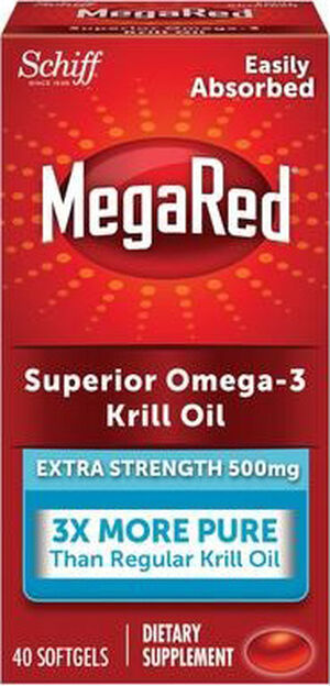 Extra Strength MegaRed® Superior Omega-3 Krill Oil 500 mg.
